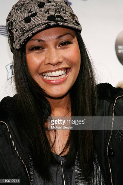 Actress Cassandra Hepburn at The Green Lodge and Skype host the Big River Man Premiere Party on January 16 2009 in Park City Utah