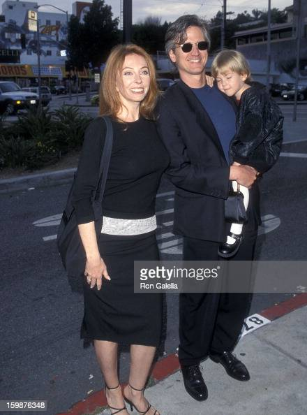 Cassandra Peterson with her ex-husband Mark and daughter Sadie
