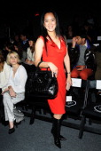 Actress Cassandra Seidenfeld attends Timo Weiland Women's during Fall 2013 MercedesBenz Fashion Week at The Studio at Lincoln Center on February 7...