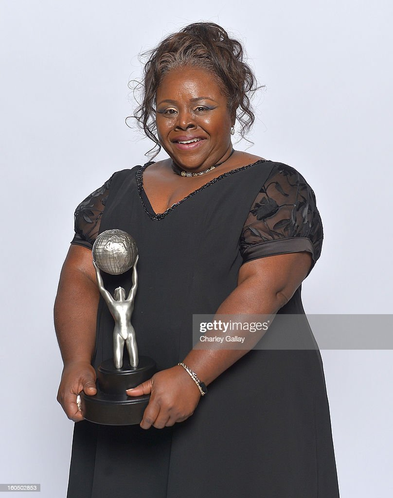 Actress Cassi Davis, winner of Outstanding Actress in a Comedy Series for 'Tyler Perry's House of Payne,' poses for a portrait during the 44th NAACP Image Awards at The Shrine Auditorium on February 1, 2013 in Los Angeles, California.