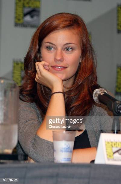 Actress Cassidy Freeman attends day 4 of the 2009 ComicCon International Convention on July 26 2009 in San Diego California