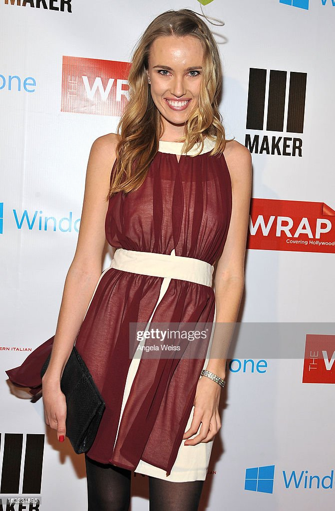 Actress Cassidy Gard arrives at TheWrap 4th Annual Pre-Oscar Party at Four Seasons Hotel Los Angeles at Beverly Hills on February 20, 2013 in Beverly Hills, California.