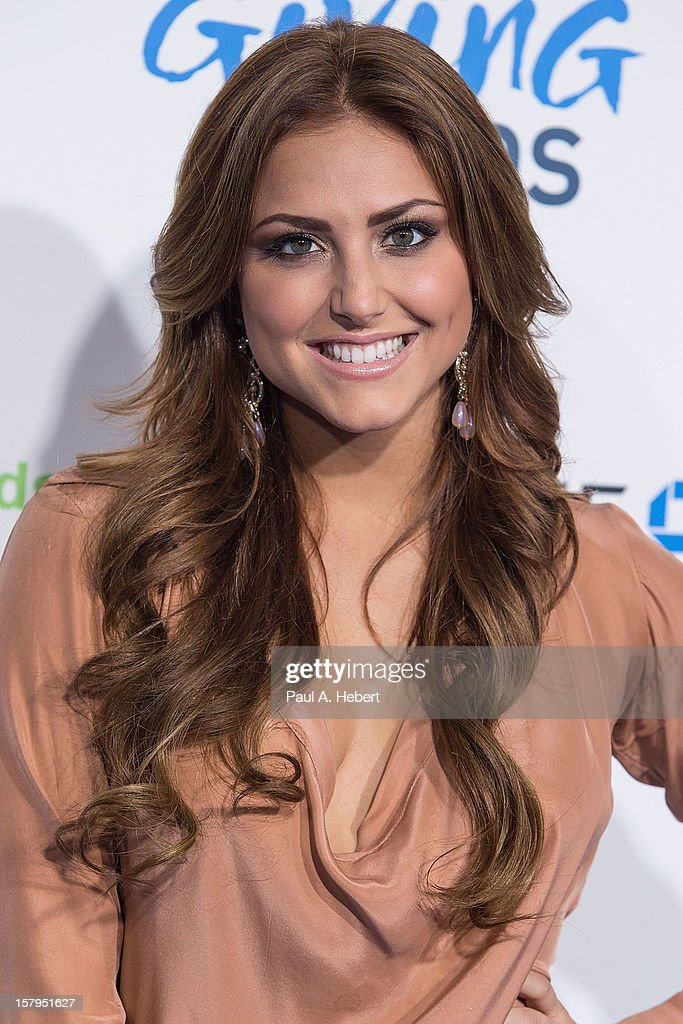Actress Cassie Scerbo arrives at the 2nd Annual American Giving Awards presented by Chase held at the Pasadena Civic Auditorium on December 7, 2012 in Pasadena, California.