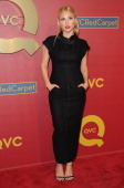 Actress Cassie Scerbo arrives at the QVC 5th Annual Red Carpet Style event at The Four Seasons Hotel on February 28 2014 in Beverly Hills California