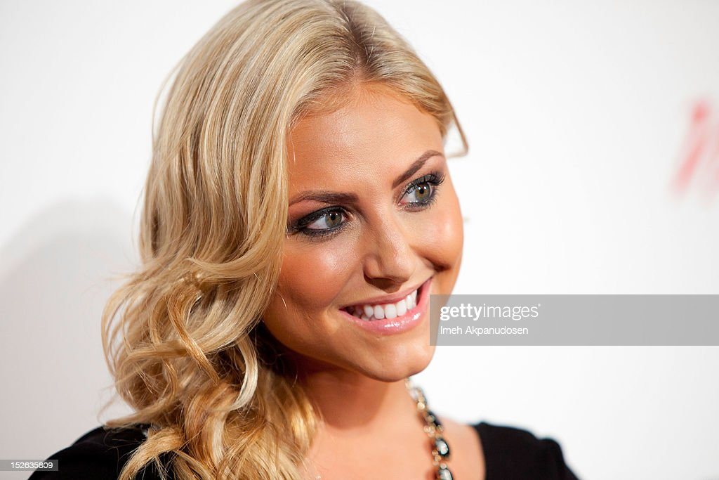 Actress Cassie Scerbo attends a 'Life Is Love' event hosted by AnnaLynne McCord benefitting The Somaly Mam Foundation on September 22, 2012 in Los Angeles, California.