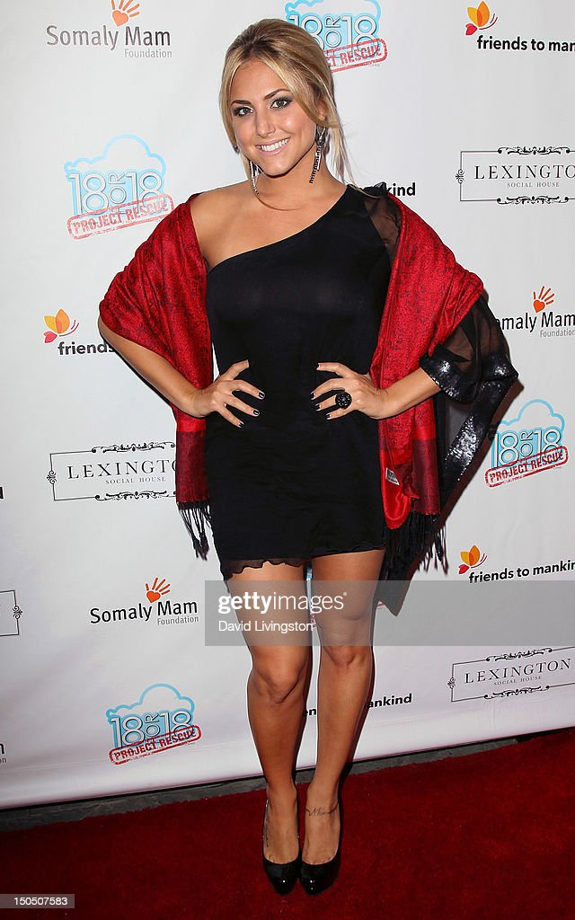 Actress Cassie Scerbo attends Friends to Mankind's 2nd annual 18 For 18 charity event and fundraiser 'The Jump' benefitting the Somaly Mam Foundation at Lexington Social House on August 19, 2012 in Hollywood, California.