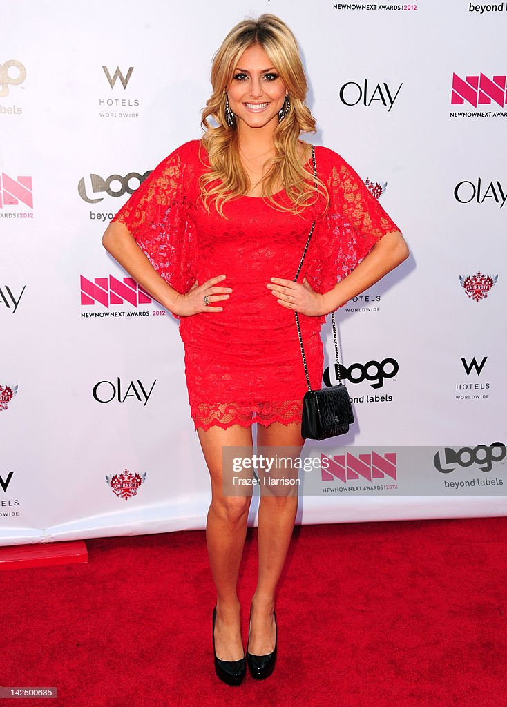 Actress Cassie Scerbo attends Logo's 'NewNowNext Awards' 2012 at Avalon on April 5, 2012 in Hollywood, California.