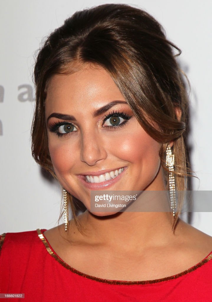Actress Cassie Scerbo attends the 2nd Annual Inspiration Awards to benefit The Susan G. Komen For The Cure at Royce Hall, UCLA on November 4, 2012 in Westwood, California.