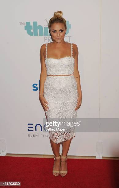 Actress Cassie Scerbo attends the 5th Annual Thirst Gala hosted by Jennifer Garner in partnership with Skyo and Relativity's 'Earth To Echo' on June...