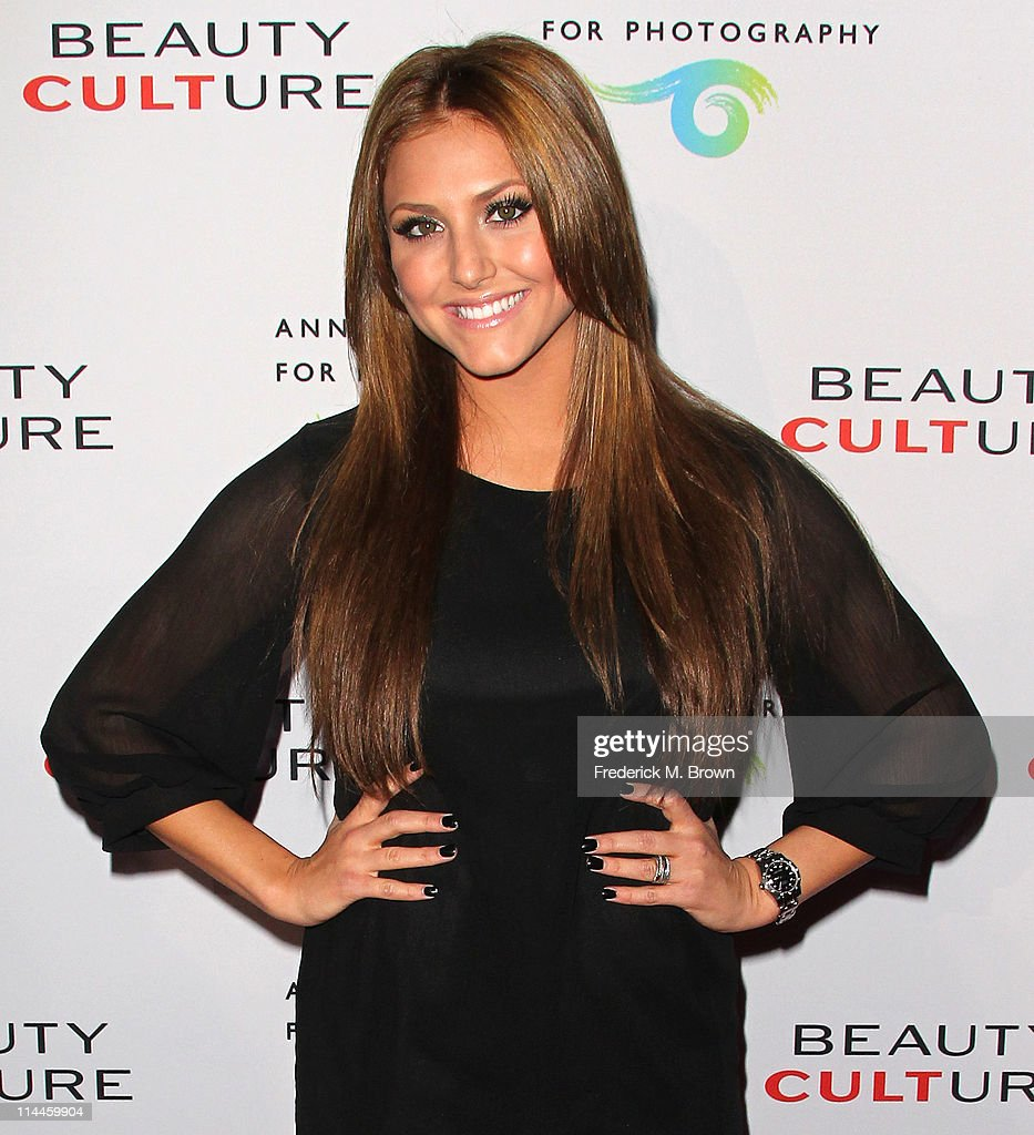 Actress <a gi-track='captionPersonalityLinkClicked' href=/galleries/search?phrase=Cassie+Scerbo&family=editorial&specificpeople=4436795 ng-click='$event.stopPropagation()'>Cassie Scerbo</a> attends the Opening Night of 'Beauty Culture' at The Annenberg Space For Photography on May 19, 2011 in Century City, California.