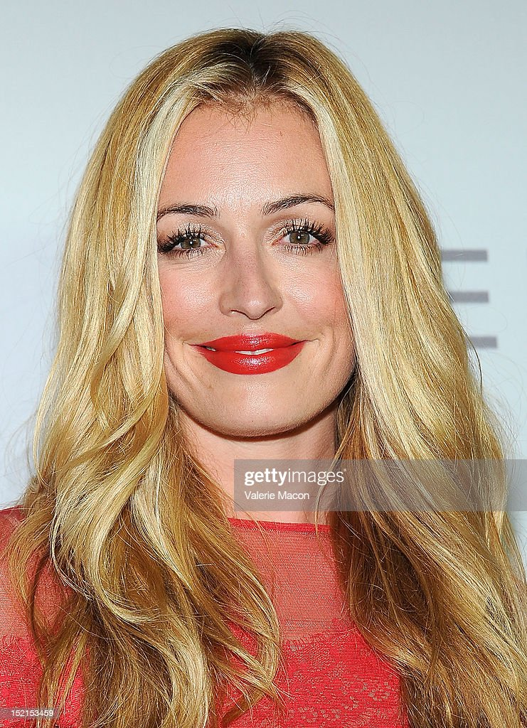 Actress Cat Deeley arrives at Audi And Derek Lam Kick Off Emmy Week 2012 party at Cecconi's Restaurant on September 16, 2012 in Los Angeles, California.