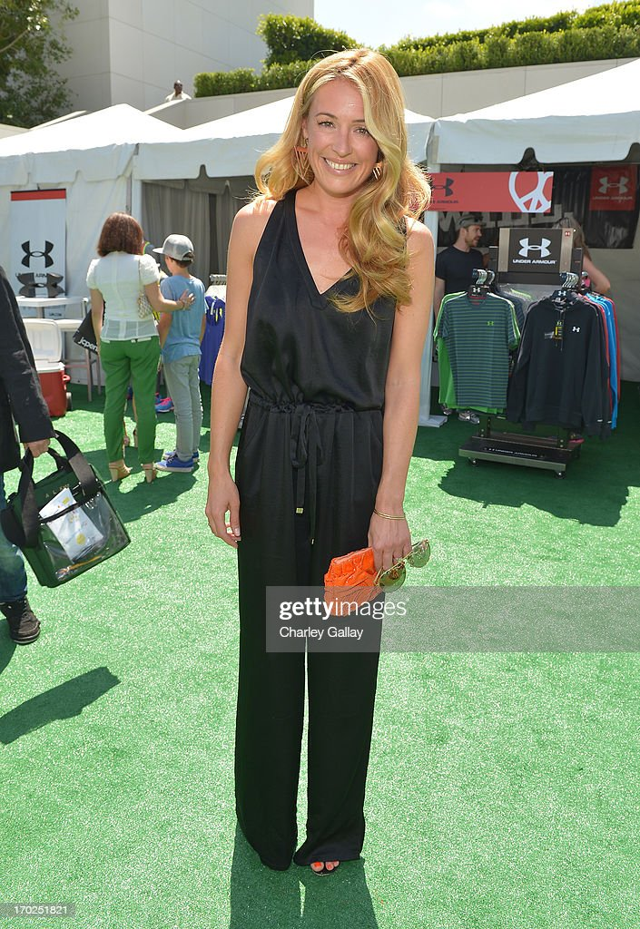 Actress Cat Deeley attends the 1st Annual Children Mending Hearts Style Sunday on June 9, 2013 in Beverly Hills, California.