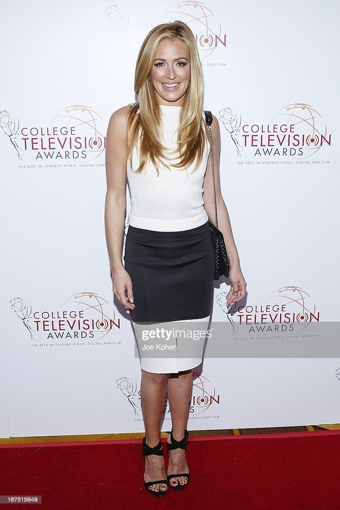 Actress <a gi-track='captionPersonalityLinkClicked' href=/galleries/search?phrase=Cat+Deeley&family=editorial&specificpeople=202554 ng-click='$event.stopPropagation()'>Cat Deeley</a> attends the 34th College Television Awards Gala at JW Marriott Los Angeles at L.A. LIVE on April 25, 2013 in Los Angeles, California.