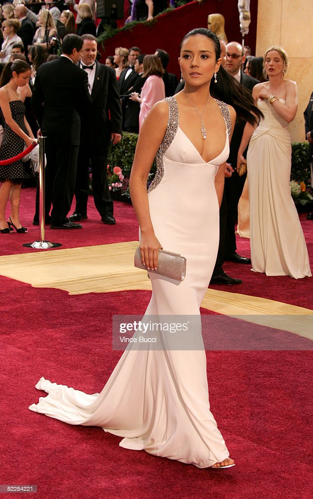 Actress Catalina Sandino Moreno arrives the 77th Annual Academy Awards at the Kodak Theater on February 27 2005 in Hollywood California