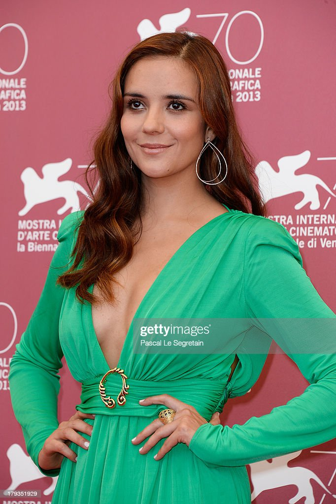 Actress <a gi-track='captionPersonalityLinkClicked' href=/galleries/search?phrase=Catalina+Sandino+Moreno&family=editorial&specificpeople=202051 ng-click='$event.stopPropagation()'>Catalina Sandino Moreno</a> attends the 'Medeas' Photocall during the 70th Venice International Film Festival at the Palazzo del Casino on September 2, 2013 in Venice, Italy.
