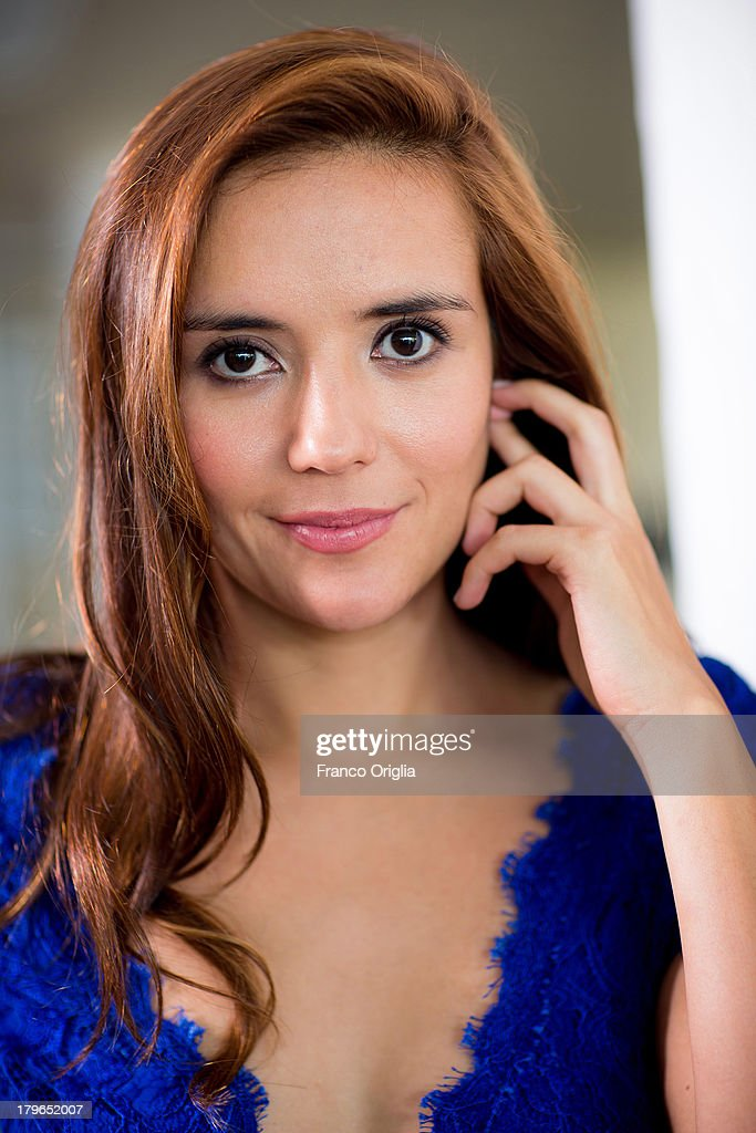 Actress Catalina Sandrina Moreno poses during the 'Medeas' Portrait Session as part of the 70th Venice International Film Festival on September 4, 2013 in Venice, Italy.
