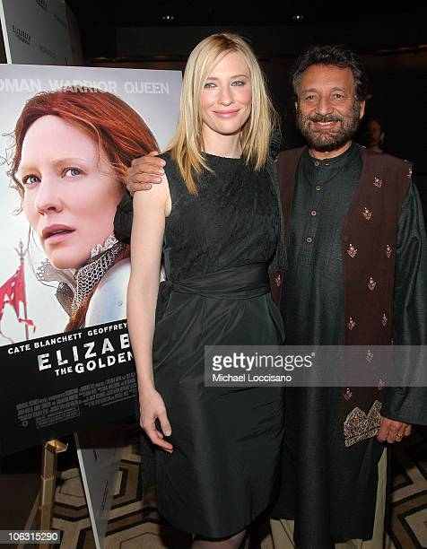 a review of elizabeth by shekhar kapur When last we left queen elizabeth i (blanchett), she'd redeclared herself a virgin and enacted a corleone-style housecleaning of traitors shekhar kapur's seque.