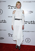 Actress Cate Blanchett arrives at the Industry Screening of Sony Pictures Classics' 'Truth' at Samuel Goldwyn Theater on October 5 2015 in Beverly...
