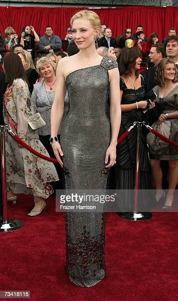 Actress Cate Blanchett attend the 79th Annual Academy Awards held at the Kodak Theatre on February 25 2007 in Hollywood California