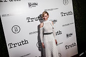 Actress Cate Blanchett attends an industry screening of Sony Pictures Classics' 'Truth' at Samuel Goldwyn Theater on October 5 2015 in Beverly Hills...