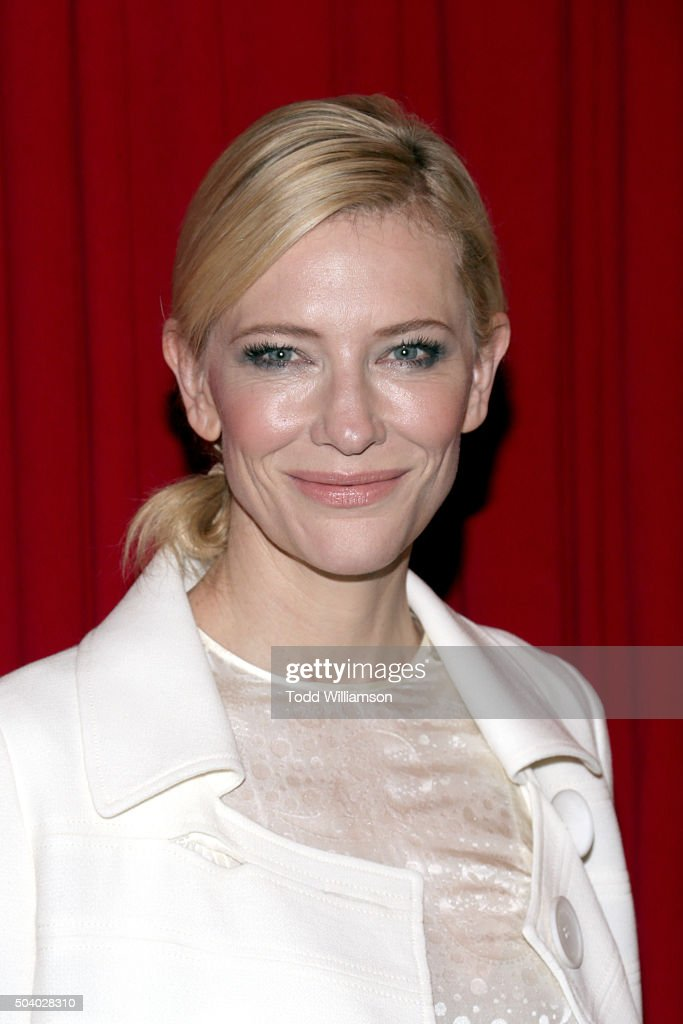 Actress Cate Blanchett attends the 16th Annual AFI Awards at Four Seasons Hotel Los Angeles at Beverly Hills on January 8, 2016 in Beverly Hills, California.