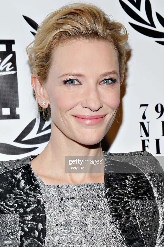 Actress <a gi-track='captionPersonalityLinkClicked' href=/galleries/search?phrase=Cate+Blanchett&family=editorial&specificpeople=201621 ng-click='$event.stopPropagation()'>Cate Blanchett</a> attends the 2013 New York Film Critics Circle Awards Ceremony at The Edison Ballroom on January 6, 2014 in New York City.