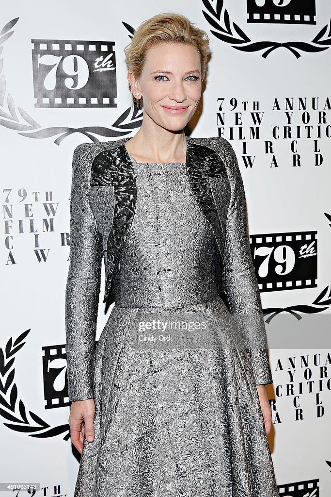 Actress Cate Blanchett attends the 2013 New York Film Critics Circle Awards Ceremony at The Edison Ballroom on January 6, 2014 in New York City.