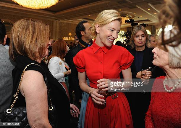 Actress Cate Blanchett attends the 2014 BAFTA Los Angeles Awards Season Tea Party presented by Jaguar Land Rover and Mulberry at the Four Seasons...