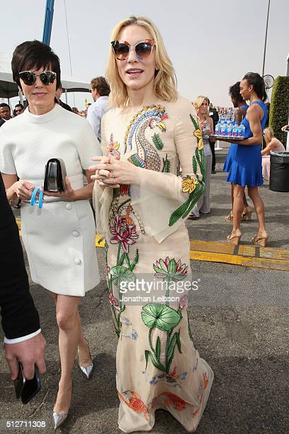 Actress Cate Blanchett attends the 2016 Film Independent Spirit Awards sponsored by Heineken on February 27 2016 in Santa Monica California