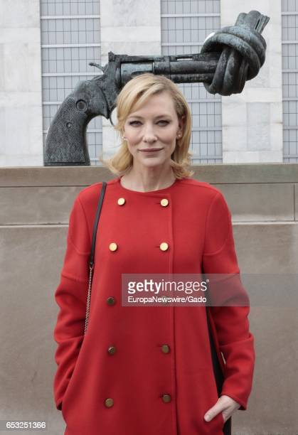 Actress Cate Blanchett attends the 4th Annual UN Women For Peace Association Awards Luncheon at the UN Headquarters in New York City New York March...