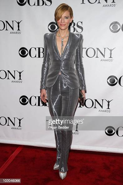 Actress Cate Blanchett attends the 64th Annual Tony Awards at Radio City Music Hall on June 13 2010 in New York City