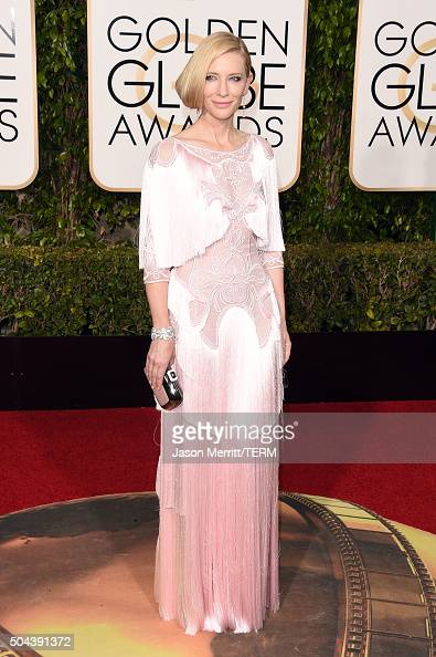 Actress Cate Blanchett attends the 73rd Annual Golden Globe Awards held at the Beverly Hilton Hotel on January 10 2016 in Beverly Hills California