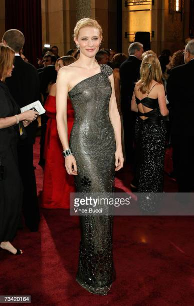 Actress Cate Blanchett attends the 79th Annual Academy Awards held at the Kodak Theatre on February 25 2007 in Hollywood California