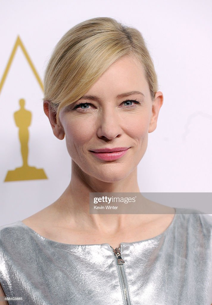 Actress <a gi-track='captionPersonalityLinkClicked' href=/galleries/search?phrase=Cate+Blanchett&family=editorial&specificpeople=201621 ng-click='$event.stopPropagation()'>Cate Blanchett</a> attends the 86th Academy Awards nominee luncheon at The Beverly Hilton Hotel on February 10, 2014 in Beverly Hills, California.