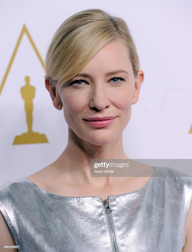 Actress Cate Blanchett attends the 86th Academy Awards nominee luncheon at The Beverly Hilton Hotel on February 10, 2014 in Beverly Hills, California.