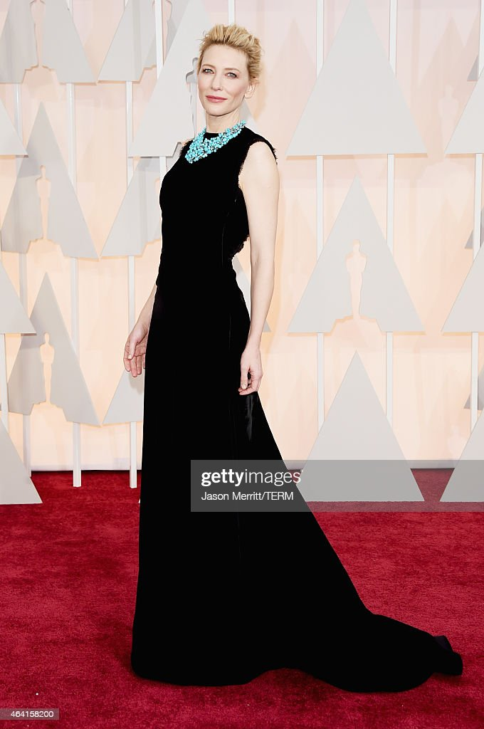 Actress <a gi-track='captionPersonalityLinkClicked' href=/galleries/search?phrase=Cate+Blanchett&family=editorial&specificpeople=201621 ng-click='$event.stopPropagation()'>Cate Blanchett</a> attends the 87th Annual Academy Awards at Hollywood & Highland Center on February 22, 2015 in Hollywood, California.