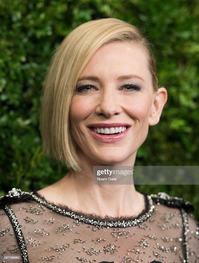 Actress Cate Blanchett attends the 8th Annual Museum Of Modern Art Film Benefit honoring Cate Blanchett at Museum of Modern Art on November 17, 2015 in New York City.