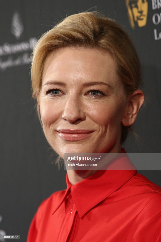 Actress Cate Blanchett attends the BAFTA LA 2014 Awards Season Tea Party at the Four Seasons Hotel Los Angeles at Beverly Hills on January 11, 2014 in Beverly Hills, California.