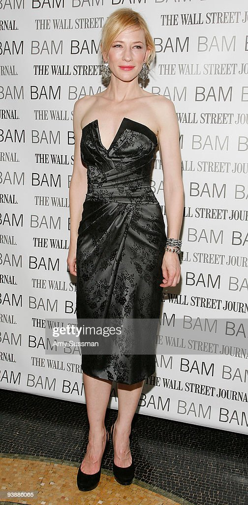 Actress Cate Blanchett attends the BAM Belle Reve Gala at the Brooklyn Academy of Music on December 3 2009 in New York City