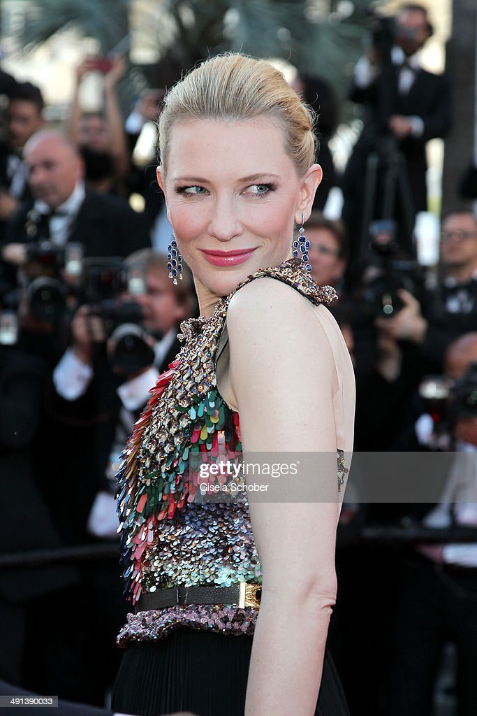 Actress <a gi-track='captionPersonalityLinkClicked' href=/galleries/search?phrase=Cate+Blanchett&family=editorial&specificpeople=201621 ng-click='$event.stopPropagation()'>Cate Blanchett</a> attends the 'How To Train Your Dragon 2' premiere during the 67th Annual Cannes Film Festival on May 16, 2014 in Cannes, France.