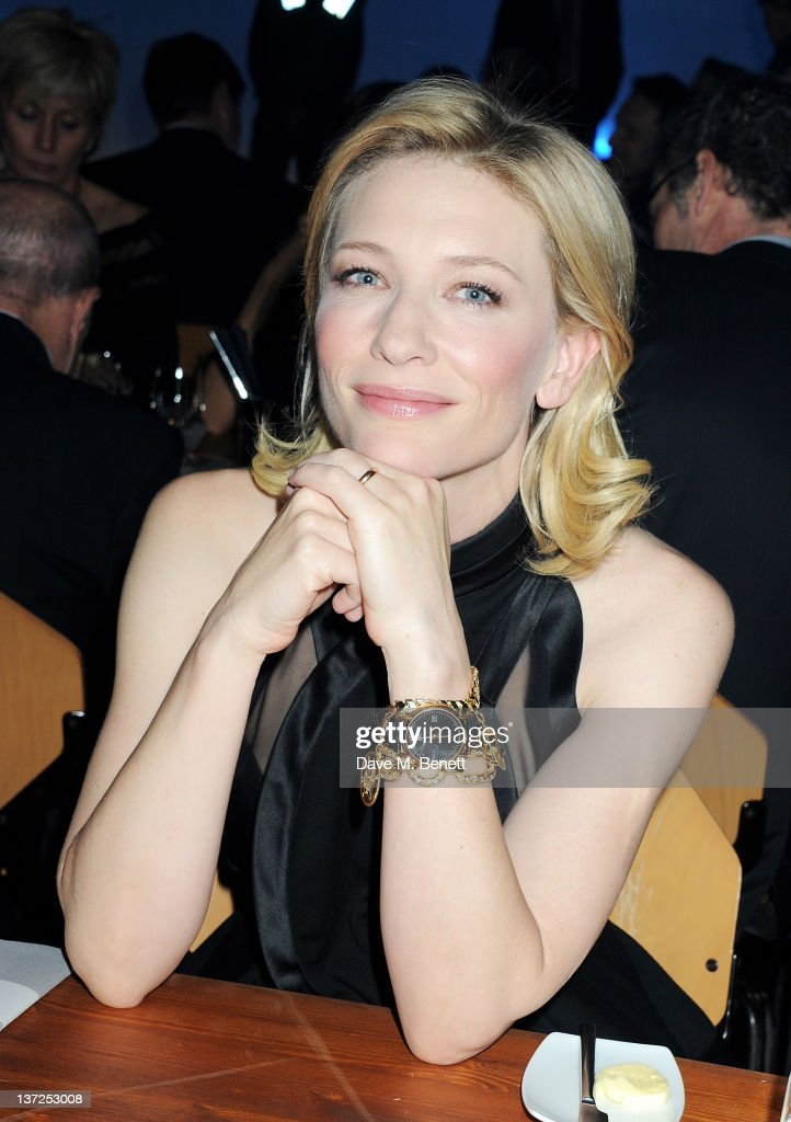 Actress <a gi-track='captionPersonalityLinkClicked' href=/galleries/search?phrase=Cate+Blanchett&family=editorial&specificpeople=201621 ng-click='$event.stopPropagation()'>Cate Blanchett</a> attends the IWC Top Gun Gala Event at 22nd SIHH High Jewellery Fair on at the Palexpo Exhibition Hall January 17, 2012 in Geneva, Switzerland.