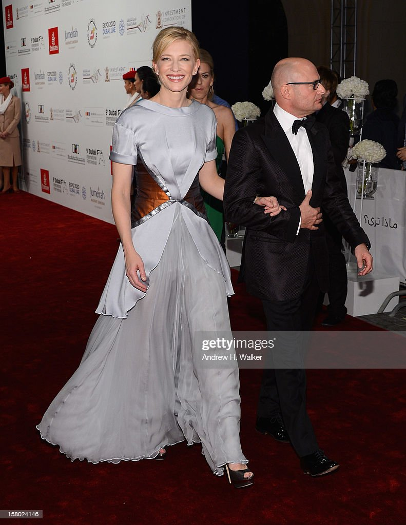 Actress <a gi-track='captionPersonalityLinkClicked' href=/galleries/search?phrase=Cate+Blanchett&family=editorial&specificpeople=201621 ng-click='$event.stopPropagation()'>Cate Blanchett</a> attends the 'Life of PI' Opening Gala during day one of the 9th Annual Dubai International Film Festival held at the Madinat Jumeriah Complex on December 9, 2012 in Dubai, United Arab Emirates.