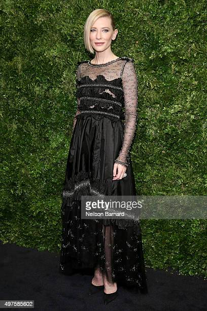 Actress Cate Blanchett attends the Museum of Modern Art's 8th Annual Film Benefit Honoring Cate Blanchett at the Museum of Modern Art on November 17...