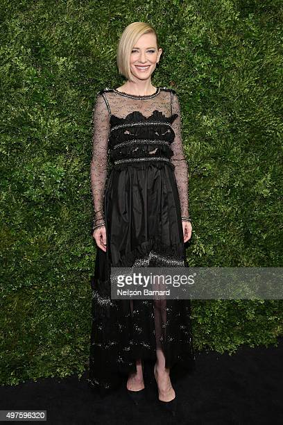 Actress Cate Blanchett attends the Museum of Modern Art's 8th Annual Film Benefit Honoring Cate Blanchett at Museum of Modern Art on November 17 2015...