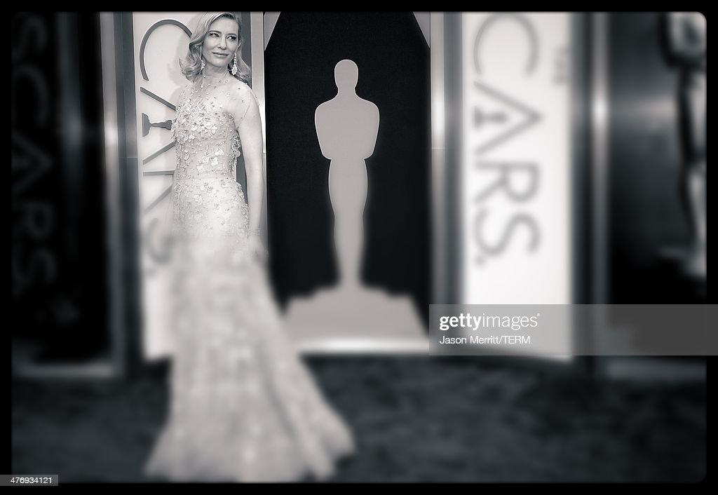 Actress Cate Blanchett attends the Oscars held at Hollywood & Highland Center on March 2, 2014 in Hollywood, California.