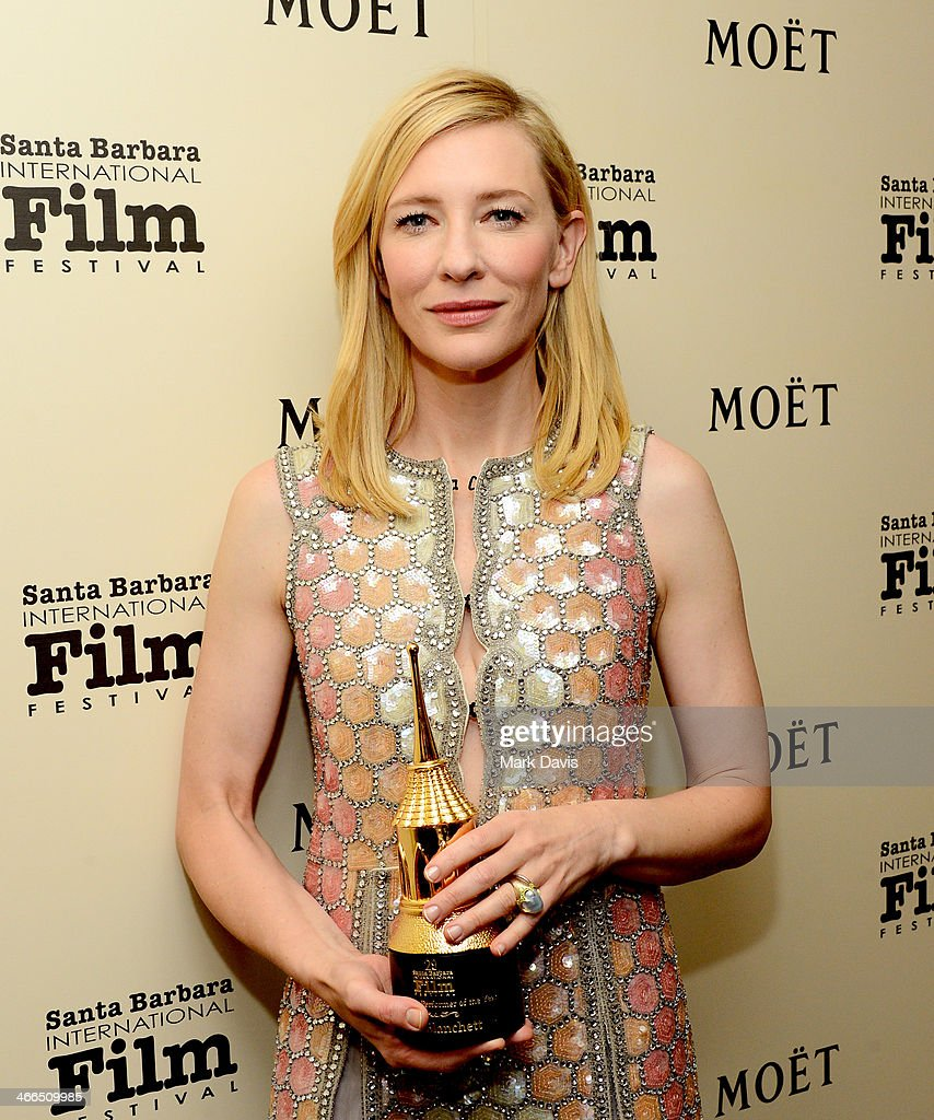 Actress Cate Blanchett attends the Outstanding Performer of the Year award on February 1, 2014 in Santa Barbara, California.