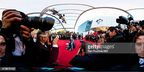 Actress Cate Blanchett attends the Premiere of 'Carol' during the 68th annual Cannes Film Festival on May 17 2015 in Cannes France