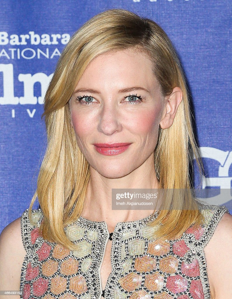Actress <a gi-track='captionPersonalityLinkClicked' href=/galleries/search?phrase=Cate+Blanchett&family=editorial&specificpeople=201621 ng-click='$event.stopPropagation()'>Cate Blanchett</a> attends the presentation of the Outstanding Performer Of The Year Award at the Arlington Theatre during the 29th Santa Barbara International Film Festival on February 1, 2014 in Santa Barbara, California.