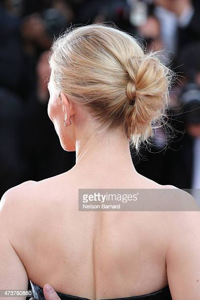 Actress Cate Blanchett attends the 'Rocco and His Brothers Restoration' Premiere during the 68th annual Cannes Film Festival on May 17 2015 in Cannes...