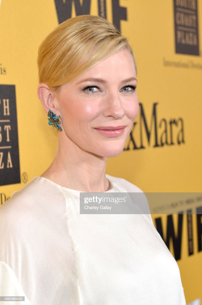 Actress Cate Blanchett attends Women In Film 2014 Crystal + Lucy Awards presented by MaxMara, BMW, Perrier-Jouet and South Coast Plaza held at the Hyatt Regency Century Plaza on June 11, 2014 in Los Angeles, California.